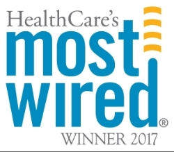 healthcare'e most wired winner